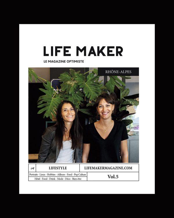 couverture Life maker magazine